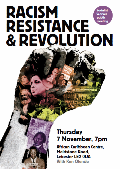 Racism, resistance and revolution