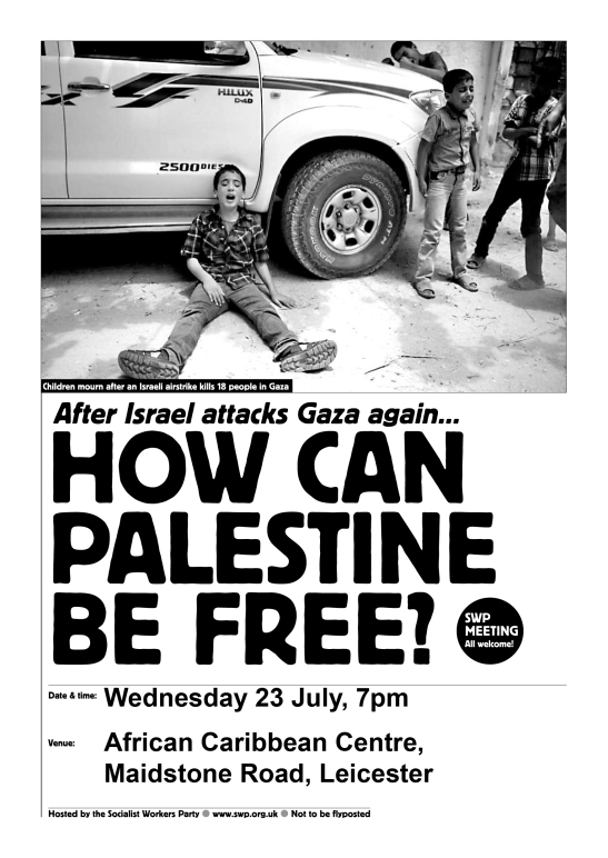 how can palestine be free 2014